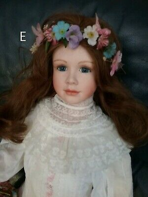 Hand Made Porcelain Doll SPRING MAIDEN