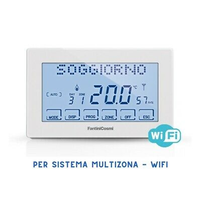 Ch180Rf Wifi Cronotermostato Touchscreen Per Sistema Intellicomfort+ Fantini Cos