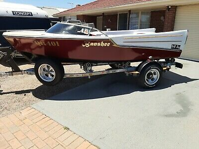 Boat 1959 Bellboy Banshee Vintage Classic + Excellent Trailer + Registration