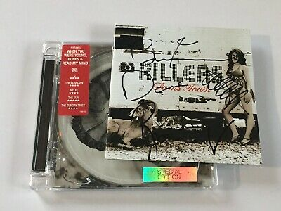 The Killers Sams Town Original 2006 CD Fully Signed Autographed By All 4 Members