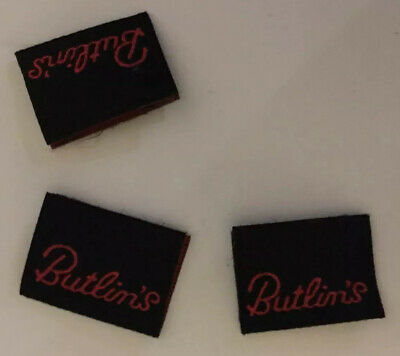 Collection Of Clothing Labels Butlin's Holiday