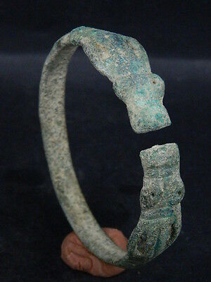 Ancient Bronze Bracelet Bactrian 300 BC No Reserve #GL1709