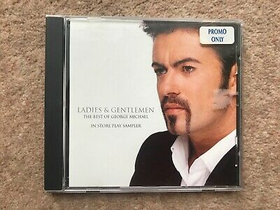 George Michael ‎– Ladies & Gentlemen The Best Ofl - In Store Play Sampler - USA