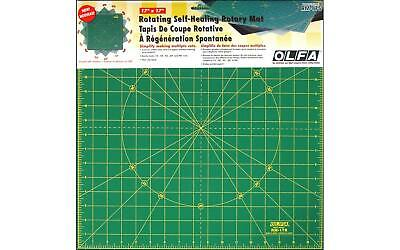 OLFA OLFRM17S  SPINNING ROTARY MAT 17 SQUARE