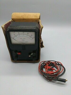 Simpson Model 9 Direct Current Amperes Meter *Tested*