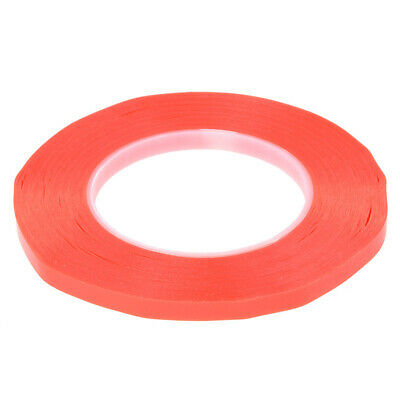 2X(Double-sided duct tape 50M heat resistance tape Mounting tape Width:12mm L4C4