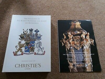 CHRISTIES Auction Collection of Barons Nathaniel and Albert Von Rothschild 1999