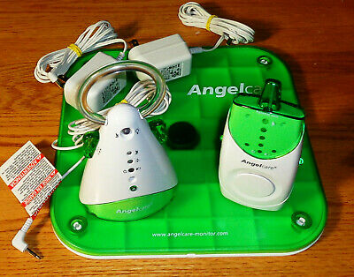 Angelcare AC601 Baby Movement Sensor With Sound Monitor Bundle Works