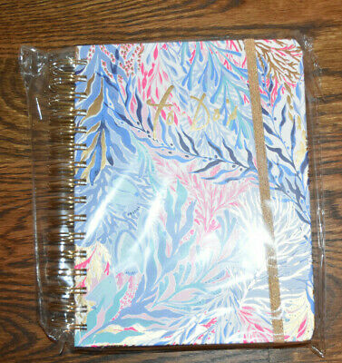 Lilly Pulitzer To-Do Planner, Kaleidoscope Coral NEW NIP