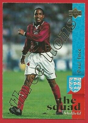 Upper Deck England Football 1997 - Limited Edition Chase Card - Paul Ince (On03)