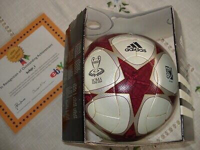 Adidas Uefa Champions League Offical Match Ball 2009 Finale Rome, New!!
