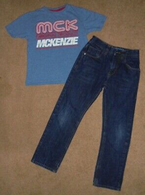 Next Boys Denim Jeans & Mckenzi Top Age 8-9 Years