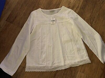 NEXT GIRLS SMOCK STYLE TOP AGE 11 Years BRAND NEW