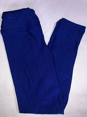 LuLaRoe Kids S/M Leggings NWT Solid Royal Blue Sizes 2-8