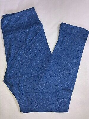 LuLaRoe Kids S/M Leggings NWT Heathered Blue Sizes 2-8
