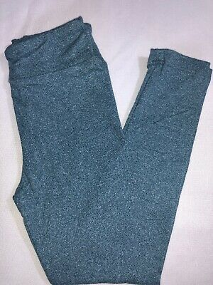 LuLaRoe Kids S/M Leggings NWT Heathered Steel Blue Sizes 2-8