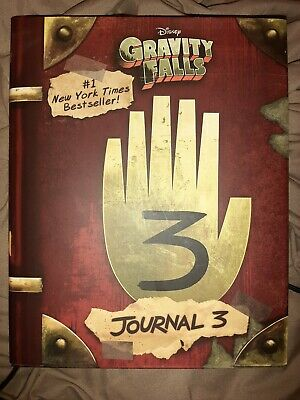 Disney Gravity Falls Journal 3 Edition by Dipper and Mabel Hardcover Book NEW