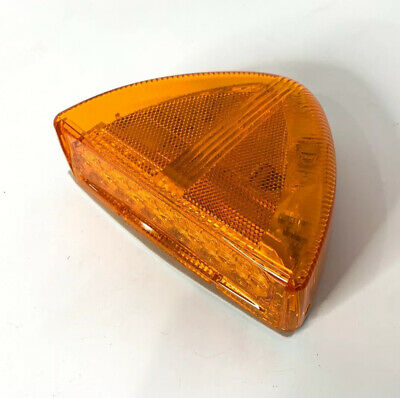 Low Profile Amber LED Side Turn Signal For Peterbilt 379 378 Headlight