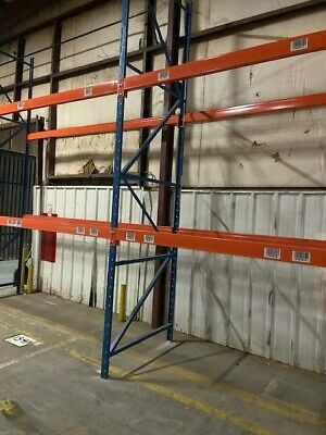 "Structural Pallet Racking Package - Includes 54"" X 16'"