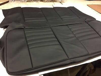 Replacement Rear Seat Covers For The  Classic Austin/Rover/Leyland Mini  (Black)