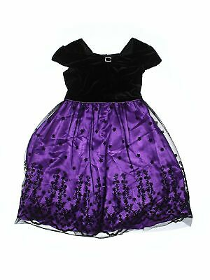 Jona Michelle Girls Purple Special Occasion Dress 12