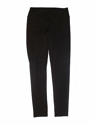 90 Degrees by Reflex Girls Black Active Pants L Youth