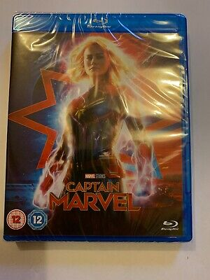 CAPTAIN MARVEL 2019 (Blu-ray) brand new sealed FREE Delivery