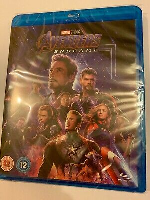 Avengers: Endgame Blu-ray New And Sealed
