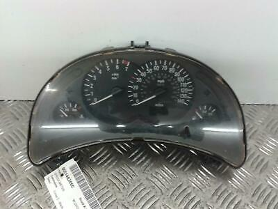 Instrument Cluster VAUXHALL CORSA 2002 973 Petrol 999999 Miles