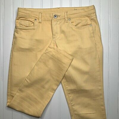 Blank NYC Yellow Reade Jeans Size 28 Ankle Skinny Women's