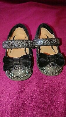 Girls Sparkly Party Shoes Infant Size 6