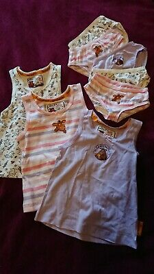 Girls Vests Age 2-3 Plus Knickers Gruffalo Bu TU