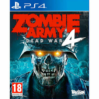 Zombie Army 4 Dead War PS4 New and Sealed IN STOCK NOW