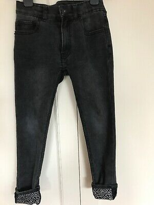 Kenzo Kids Boys Washed Out Black Jeans Age 8A/128