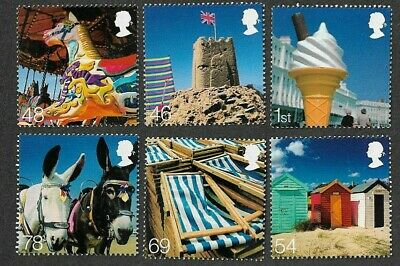 Great Britain-Beside the Seaside 2007 set mnh-Holidays-
