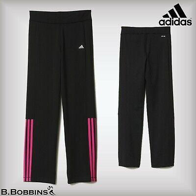 🔥 Adidas Gear Up CLIMALITE® Girls Pants Age 5-6-7-8-9-10-11-12-13-14-15 Years