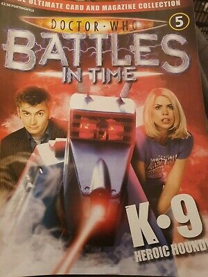 Doctor Who 'Battles In Time' Magazine No. 5 K.9 Heroic Hound