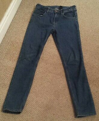Boys Skinny Fit Denim Jeans Age 12-13 years