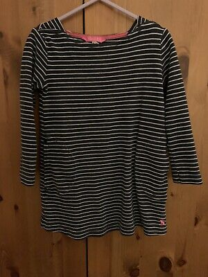 Joules Girls Striped Tunic Dress Age 3-4 Years