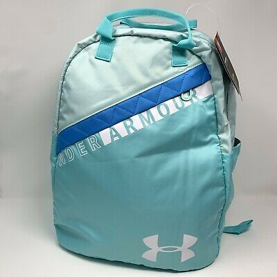 Under Armour Girls Favorite Backpack 3.0, Tropical Tide/White, One Size