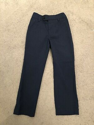 Next Boys Blue Smart Suit Boys Trousers Age 6 Years