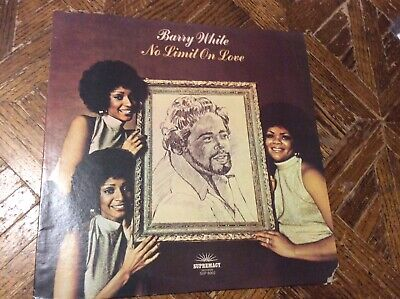 Barry White No Limit on Love Supremacy Records SUP-8002 vinyl lp 1974 VG/VG+