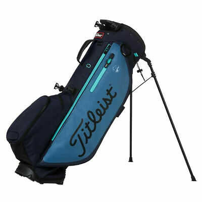 New 2019 Titleist Players 4 Plus Stand Bag Navy/Bay/Glass Tb9Sx1-444
