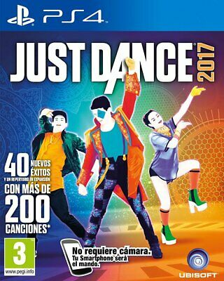 Juego Ps4 Just Dance 2017 Ps4 5486266