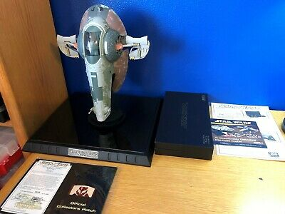 Code 3 Collectibles Star Wars Boba Fett Slave I Die Cast Replica