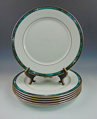 Lote de 6 Lenox China Kelly Platos Cena