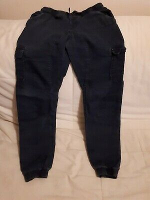 Boys Blue Trousers Aged 10-11 Years