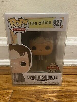 Funko Pop! Television The Office Dwight Schrute Cpr Mask #927 Fye Exclusive