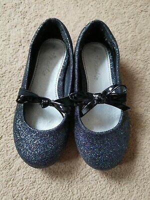 Next Girls Glitter Party Shoes 8