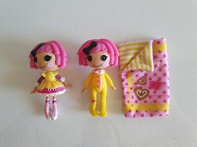 Mini LALALOOPSY Dolls inc. SLEEPOVER Crumbs Sugar Cookie